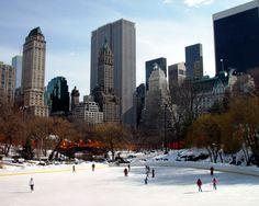 Skating @ Central Park