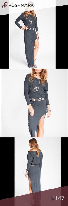 Stillwater The Mojave Maxi Tee Dress Black Stillwater The Mojave Maxi Tee Dress Black Stillwater Dresses