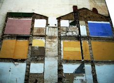 """ghost-building """"accidental art of demolished architecture"""""""
