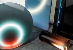 Sabine Marcelis neon and resin lights