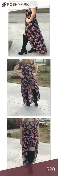 Floral Romper with Cape