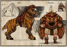 Creature and owner design