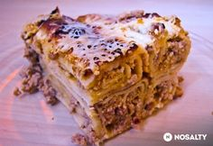 Csőben sült hortobágyi húsos palacsinta | NOSALTY Hungarian Recipes, Lasagna, Food And Drink, Ethnic Recipes, Mille Crepe, Crepes, Dutch, Pancakes, Baby