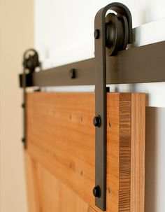 Shop now for Classic flat track sliding hardware for interior barn doors that are easy to install, highest quality and fastest shipping. Built Real in the USA.