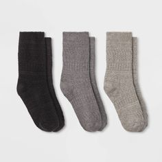 New CuddlDuds Ankle Womens Socks 3 PACK  Shoe Size 4-10 Everyday Essentials