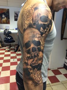 The first sitting of my sleeve!