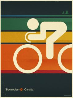 Vintage Poster - Cycling Sport