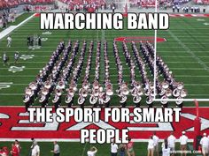 "Lol. Our band director is always saying we're the ""smart kid school"" and pointing out how many APs were is whenever we fail."