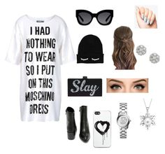 I need to go shopping!! by lhe02 on Polyvore featuring polyvore, fashion, style, Moschino, Very Volatile, Michael Kors, Bling Jewelry, Zero Gravity and Karen Walker