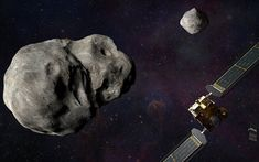 Δίμορφος: Το φεγγάρι – στόχος των πρώτων αποστολών πλανητικής άμυνας από τη NASA και την ESA – Newsbeast Space Launch Schedule, Vandenberg Air Force Base, Spacex Falcon 9, Service Program, Spacecraft, New Technology, Product Launch, Earth, Cosmos