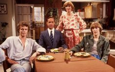 Butterflies, written by Carla Lane, starring Wendy Craig, Geoffrey Palmer, Nicholas Lyndhurst, Andrew Hall, Bruce Montague, Michael Ripper and Joyce Windsor, 1978-83