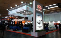 Trade #Show #Stand #Design for BYD FORKLIFT in CEMAT 2016 Hannover, Germany. www.triumfo.de