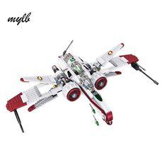 mylb Star Wars Space Battle Captain Jag Clone Pilot R4-P44 ARC-170 Fighter Assembled Toy Building Blocks Toys #Affiliate
