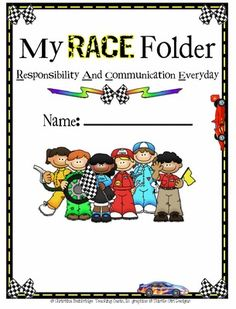 Racing Classroom Theme from Mrs. Bainbridge's Shop on TeachersNotebook.com (29 pages)