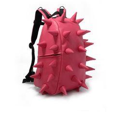Amazon.com: Fashionable Pink Hedgehog Spike Punk Backpack