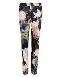 Opulent Bloom pant - Black | Jeans & Pants | Ted Baker