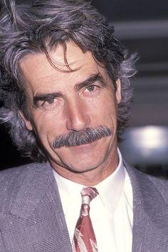 Sam Elliott, male actor, celeb, r.i.p., moustache, portrait, photo