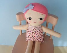 Classic Rag Doll with light brown / Olive skin by PalookaHandmade
