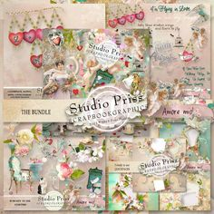 collection Amore Mio by Priss Designs http://shop.scrapbookgraphics.com/Amore-Mio-the-bundle.html