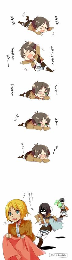 Attack on titan, Chibi Pictures