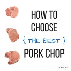 Grilling tips and notes on how to choose the best pork chop! Grilled Pork Chops, Grilled Meat, Pork Loin, Grilling Tips, Grilling Recipes, Cooking Supplies, Cooking Tips, Cooking Recipes, Pork Cooking Temperature