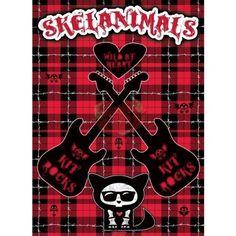 "Skelanimals Poster «Kit Rocks» 52×38 cm: Skelanimals Poster ""Kit Rocks"" 52x38 cm produit officiel dimensions :52x38 cm Cet article…"