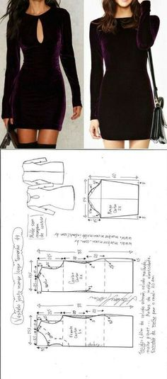 Amazing Sewing Patterns Clone Your Clothes Ideas. Enchanting Sewing Patterns Clone Your Clothes Ideas. Sewing Dress, Dress Sewing Patterns, Diy Dress, Sewing Clothes, Clothing Patterns, Sewing Coat, Skirt Patterns, Coat Patterns, Blouse Patterns