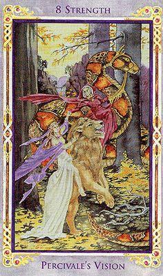 Strength - Legend: Arthurian Tarot