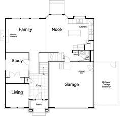 2e0da54b007ec4a1c61258c26b3f5912--home-floor-plans-ivory Vernet Footage Ivory Homes Floor Plan on