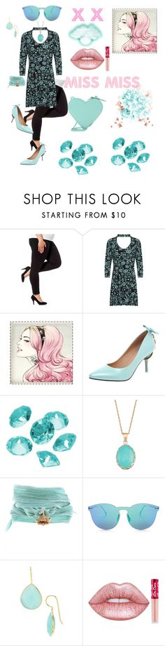 """X X"" by babayka-lesovichek ❤ liked on Polyvore featuring WearAll, Blue La Rue, Catherine Michiels, Illesteva, Flint & Mortar, Lime Crime and Christopher Kane"
