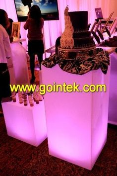 Glow Exhibition Led Cube,Design Bar Furniture Cabinet