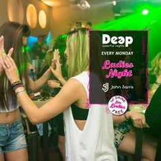 Summer Mood, δωρεάν ποτό και cool μουσική από τον μοναδικό DJ John Sarris. Αυτό είναι το #DeepPink ! #MondayNights