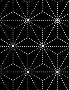 Click to see the actual MD53-X - Stars stencil design.