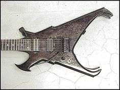 Brett Roeller Warbird D7 Electric Guitar, Left Hand , 7 String - http://www.7stringguitar.org/for-sale/brett-roeller-warbird-d7-electric-guitar-left-hand-7-string/30934/