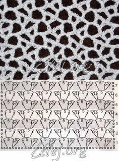 New crochet shawl pattern diagram haken 26 ideas Crochet Motifs, Freeform Crochet, Crochet Diagram, Crochet Stitches Patterns, Crochet Art, Crochet Squares, Filet Crochet, Crochet Shawl, Knitting Stitches
