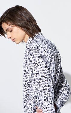 Slim Fit Symbols Shirt , KENZO