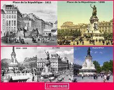 Quand Paris change au fil des siècles - Évolution de Paris en images - Place de la République