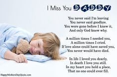 Fathers Day Poems For Deceased Dads