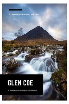Travel photography in Glen Coe, Scotland
