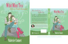 Wild Mint Tea by Valeria Comer | The Book Cover Bakery