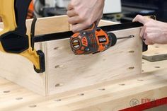 6 Easy Steps to Make Drawers : 6 Steps (with Pictures) - Instructables Diy Storage Projects, Diy Furniture Projects, Woodworking Projects Diy, Woodworking Wood, Storage Ideas, Diy Projects, How To Make Drawers, Diy Drawers, Building Kitchen Cabinets