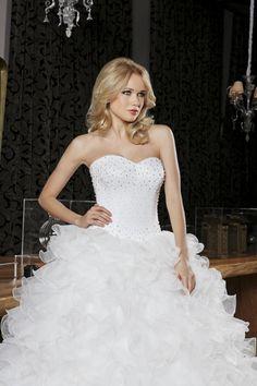 robe de mariée jupe en tulle et bustier strass 2014 DANSEUSE ...