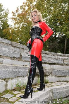 Black High Boots, German Women, Dress Attire, Crazy Outfits, Female Supremacy, Bicycle Girl, Sexy Latex, Fashion Boots, Leather Pants