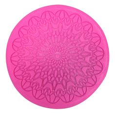 Round Shape Lace Silicone Mold