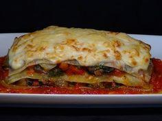 Receta Lasaña de verduras y queso - Recetas de cocina, paso a paso, tutorial - YouTube