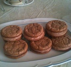 Vaneta's Vivacious Oopsie Sandwich Cookies - Atkins Induction friendly - Using Ez-sweetz liquid splenda each cookie sandwich has 2.7 carbs