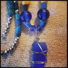 Walk good Jamaica necklaces. Recycled paper beads