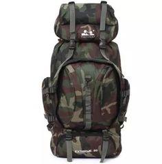 Camouflage Large Backpack