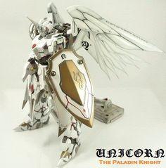 GUNDAM GUY: The Unicorn Paladin Knight - Custom Build