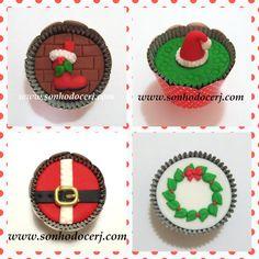Cupcakes Natal! curta nossa página no Facebook: www.facebook.com/sonhodocerj